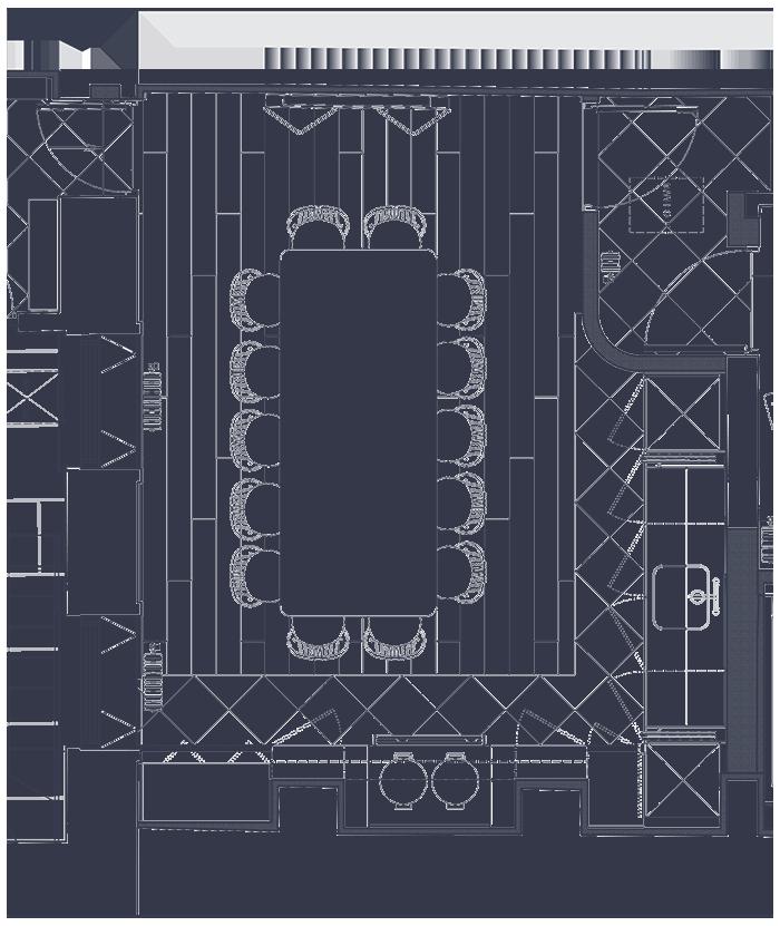 Basement Floor Pantry 700 W