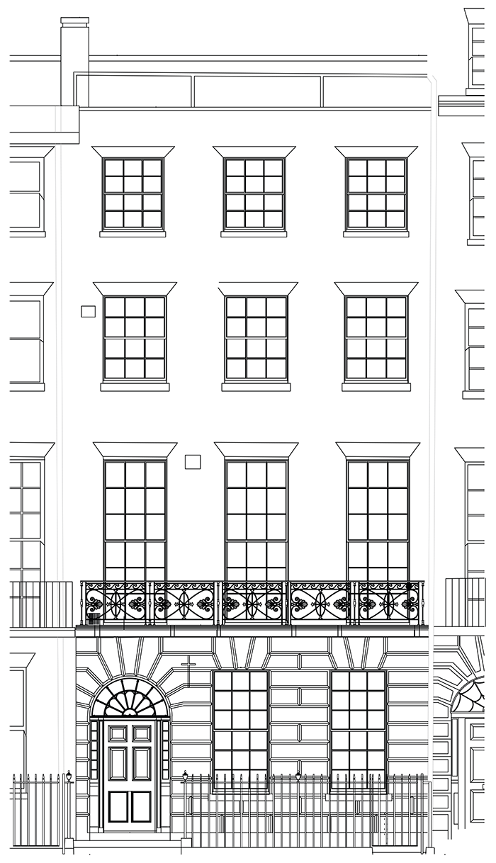 house facade 700 W